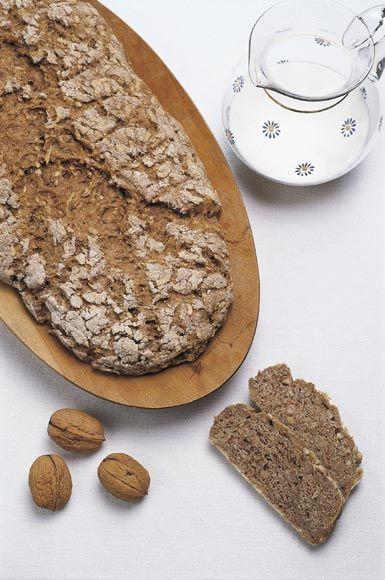 Pan integral de manzanas y nueces #cuisine #recipes