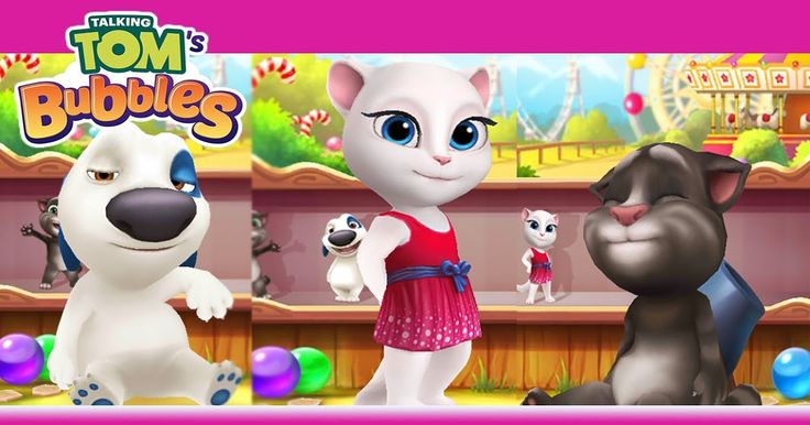 Free Download Talking Tom Bubble Shooter Game Apps For Laptop Pc Desktop Windows 7 8 10 Mac Os X