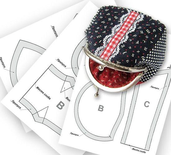"""Еще несколько выкроек кошелечков от """"Рукодельной лавки"""": ▻ http://rukodelkilavka.com.ua/6_vykrojki-koshelkov-prodolzhenie ◅ Эти выкройки подойдут к созданию кошелька, косметички или сумочки-клатч. #sewing #patterns"""