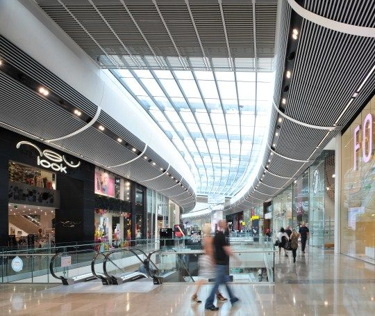 Westfield stratford city london sas international project for Shopping mall exterior design