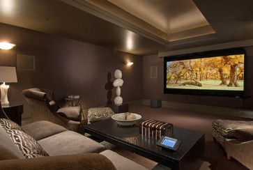 basement tv room design ideas, pictures, remodel, and decor - page