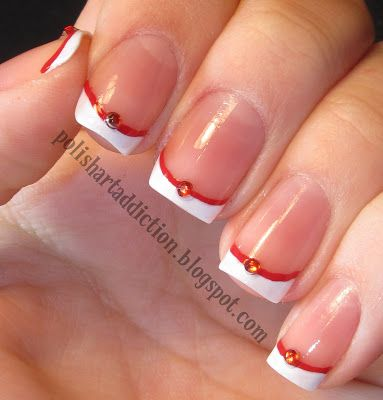 Polish Art Addiction, these would make fun Sailor Moon themed manicures, lots of color choices