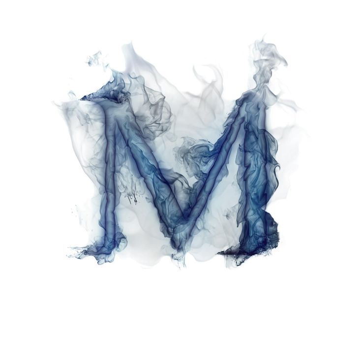 Smoky Letter M