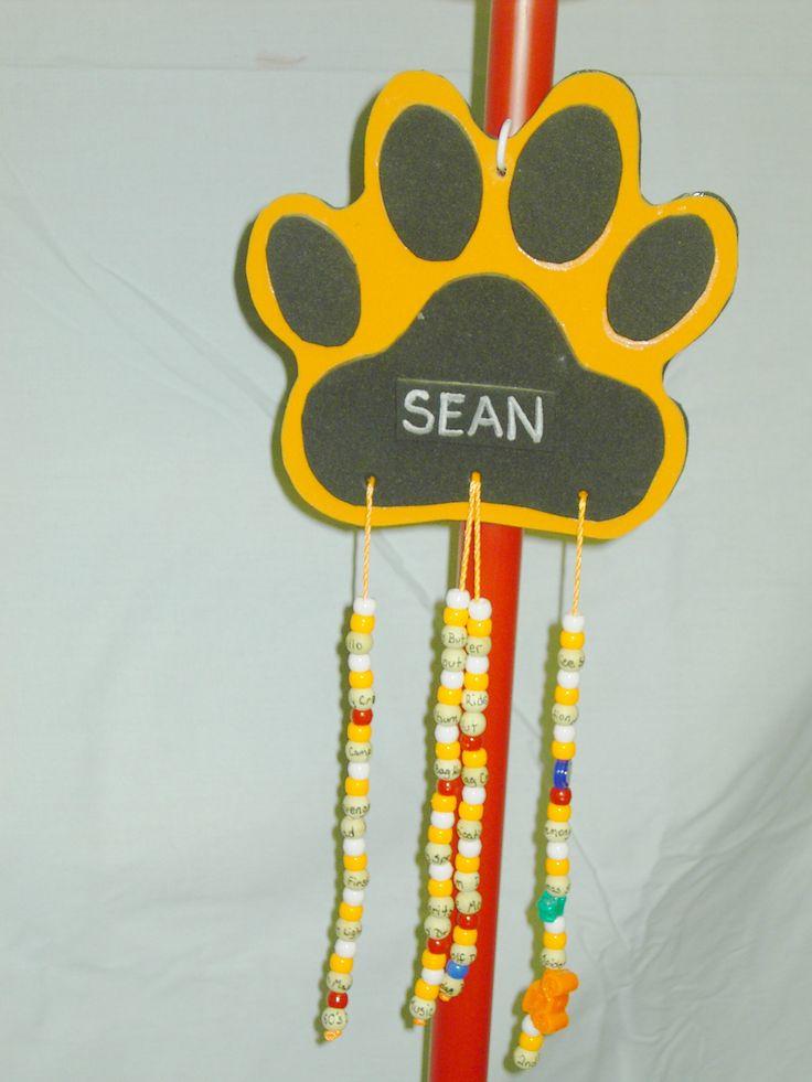 Tiger Den - Scout's doodle Designed by Aimee Watson Davis