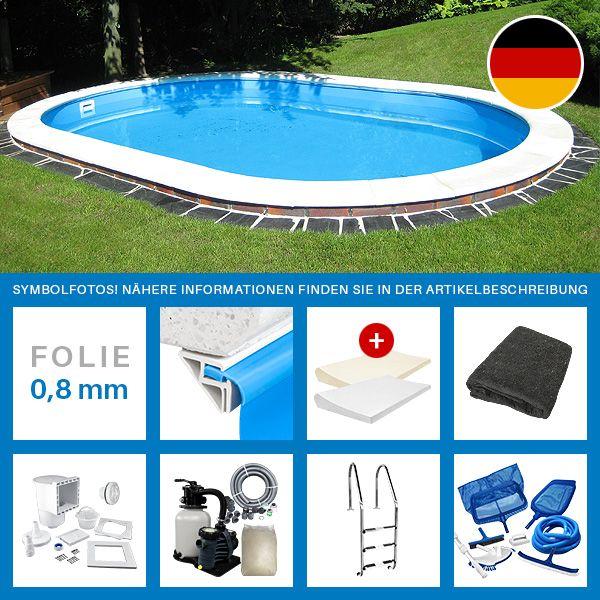 25+ best ideas about ovalpool on pinterest | schwimmbecken, pool, Garten ideen gestaltung