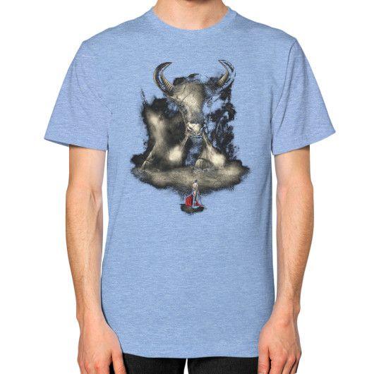 Matador's Match Unisex T-Shirt (on man)