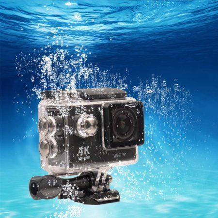 Ckeyin ® 2.4G Telecomando Ultra HD Action Camera Impermeabile Sport all'aperto Edizione Videocamera WIFI 2.0 pollici Schermo con gli Accessori Liberi