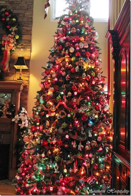 Jesus And Christmas Trees Part - 23: Marcu0027s Christmas Home Tour: Part 1. Christmas JesusChristmas Tree ...