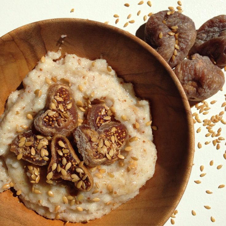 Slowcooker fig and oat brand cereal.  I use only Bobs Redmill