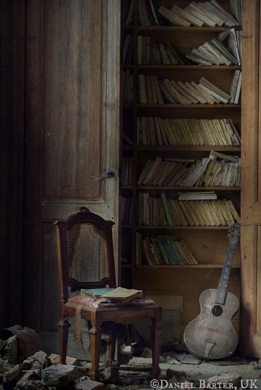 The Scholar and The Composer aka Library  Music, 2013 © Daniel BARTER