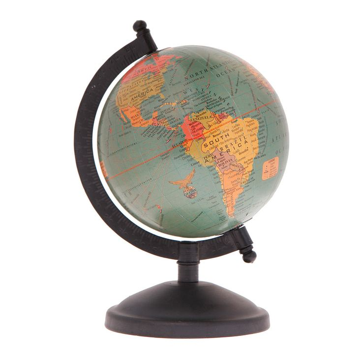 Perfect for any study this decorative Blue Vintage Atlas Globe is the perfect gift for the wanderlust at heart.