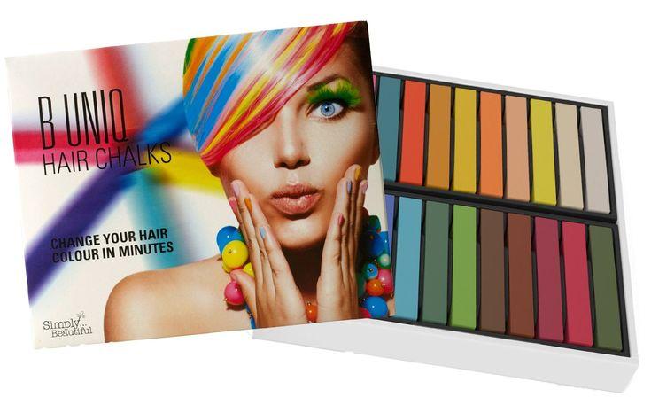 B Uniq - Set di #gessetti atossici per la #colorazione temporanea dei #capelli