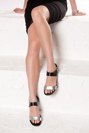 İnci Tek Fiyat 49-59 TL - Hakiki Deri Siyah Sandalet 120118289710 %70 indirimle 59,99TL ile Trendyol da