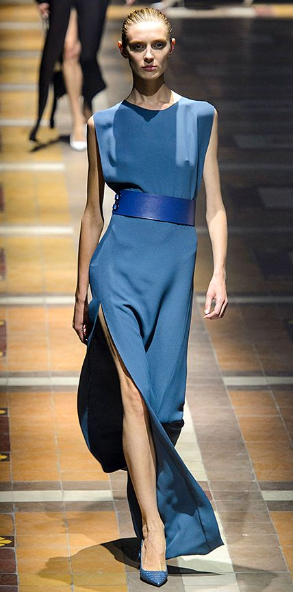 SPRING/SUMMER 2015 - Lanvin #InStyle Like dress back view.