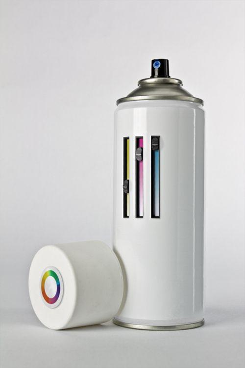 Custom Colour Spray Can