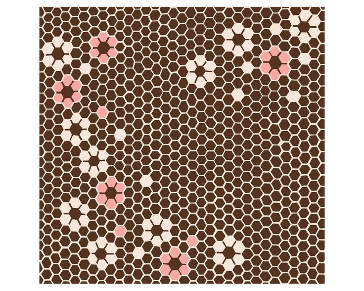 The Honey -Rokkaku- #Furoshiki #Fabric #Gift #Wrapping #Wrappingpaper #Japanese #Japan #Culture #Eco #Ecology #Environment #Creative #Wrap #Origami #Ideas #Textile #Art #Cloth #Cotton #Hexagon