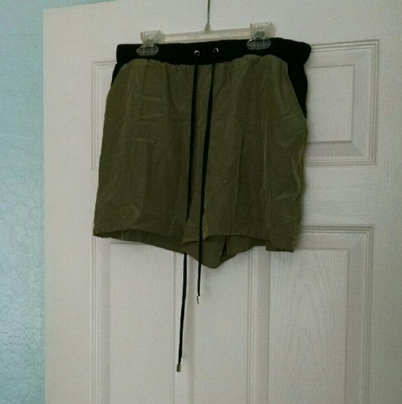 Olive shorts These shorts are perfect for this spring and summer! Olive is the color of the year so these are a must in every closet!  Make an offer? mossimo Shorts