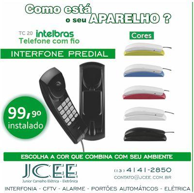 JCEE : Interfone para Apartamento
