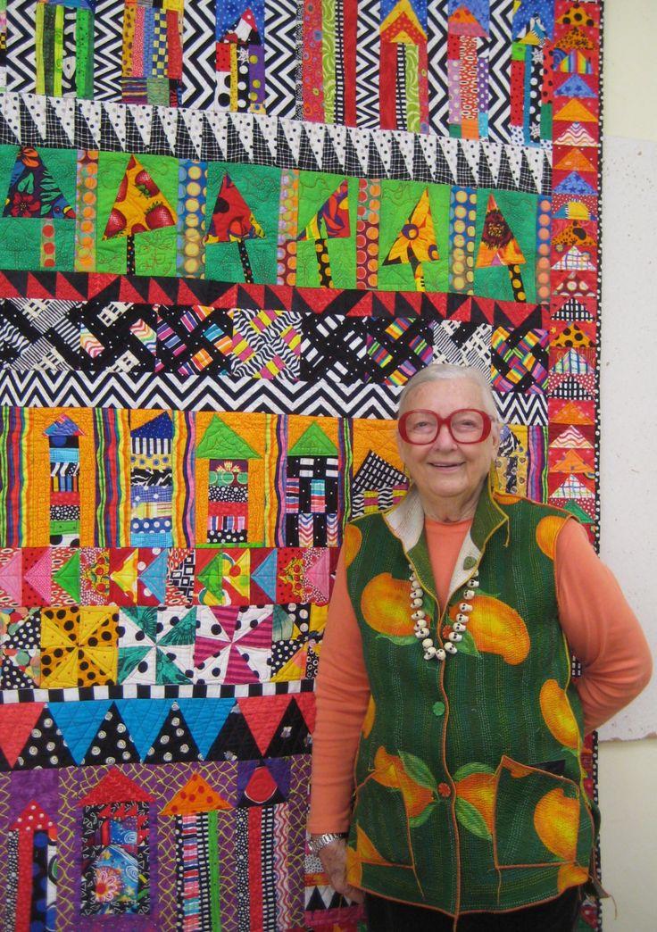 Freddy Moran.  Her quilts make me smile!