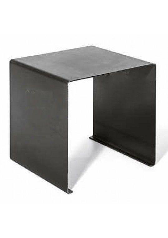 KUBUS1 40x40x40 cm industrial look kruk/plantentafel/bijzettafel/houtbak