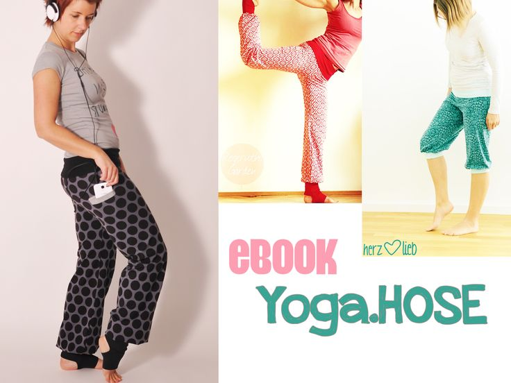 YOGA hose • Nähanleitung + Schnittmuster • leni pepunkt • nähen • DIY easy • sewing pattern women • Damen • trousers •  casual • ebook
