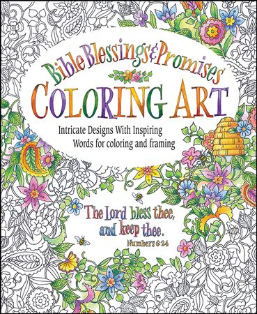 Bible Blessings Promises Coloring Book For Adults
