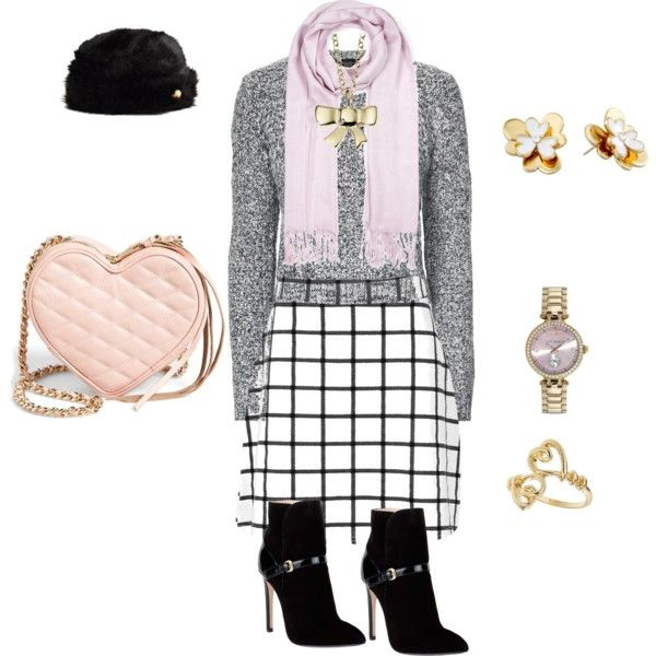 CHECKED by tsurumi-mai on Polyvore featuring ファッション, Topshop, Boohoo, Emilio Pucci, Rebecca Minkoff, Ted Baker, Kate Spade and Miss Selfridge