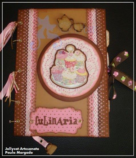 Jollycat-Artesanato : Livro de receitas de culinária