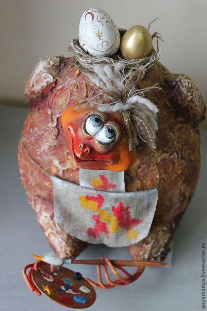 Коллекционные куклы ручной работы. Ярмарка Мастеров - ручная работа. Купить курочка-Несушка. Handmade. Кукла ручной работы, художница