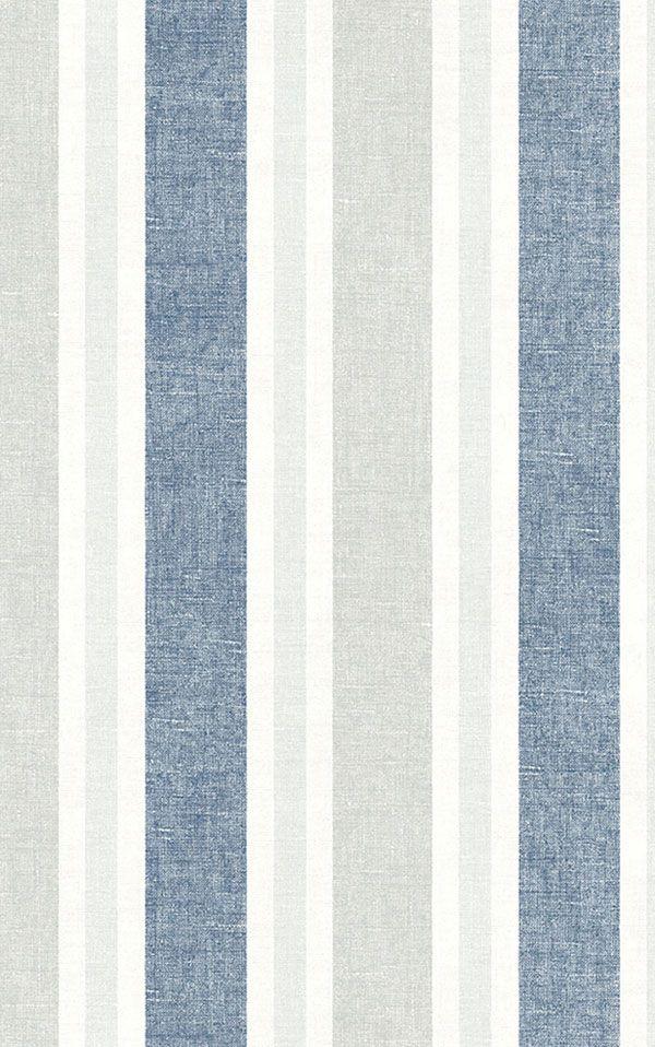 WALLQUEST / THE YACHT CLUB Multi Stripe YC60612