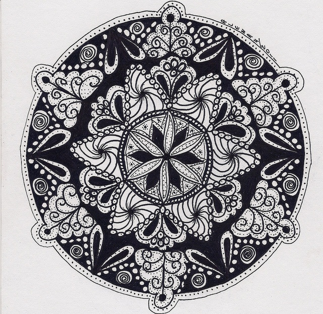 I think I love these so much because they're so similar to Polish Folk Art.