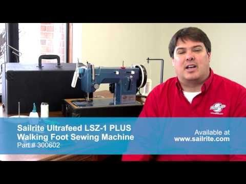 Sailrite Ultrafeed LSZ40 PLUS Walking Foot Sewing Machine Sailrite Beauteous Sailrite Ultrafeed Lsz 1 Plus Walking Foot Sewing Machine