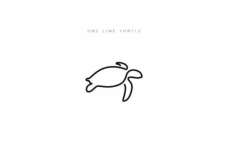 Line Drawing Turtle : Best small turtle tattoo ideas on pinterest