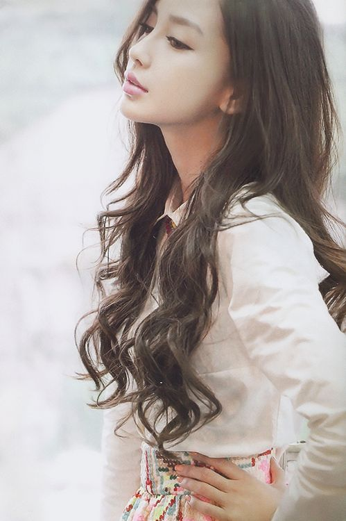 16 Fascinating Asian Hairstyles. Tousled HairCurly HairAngelababyGirl  HairstylesLong ...