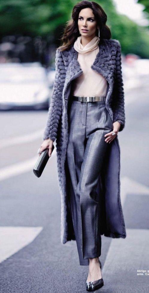 sweater coat - source: Social Media Princess via Design Chic: Fashionable Friday