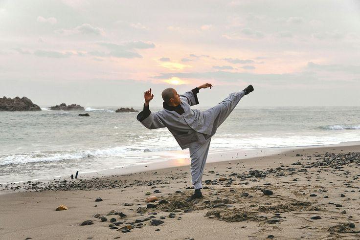 Beach training - Sunmudo Monk