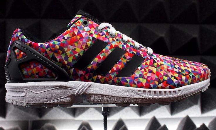 Adidas Zx Flux Weave Multicolor