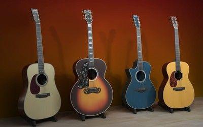 Classical guitars wallpaper