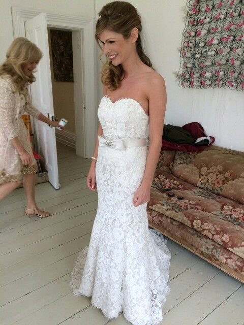 My White Rose R704 Wedding Dress Lyde Court Country Ivory Lace