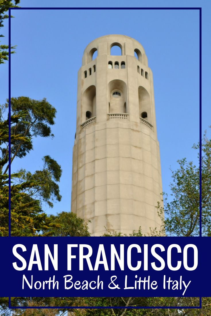 North Beach San Francisco Coit Tower
