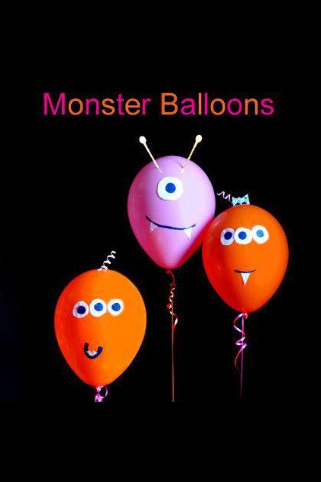 Little monster birthday balloons!! #Kids #Birthday #Party