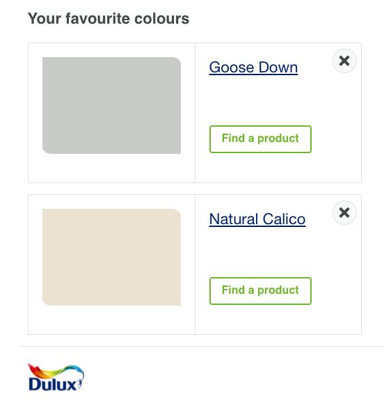 Colour Scheme Grey Cream Natural Calico Goose Down Paint Lounge Dulux Home Warm Welcome Cosy