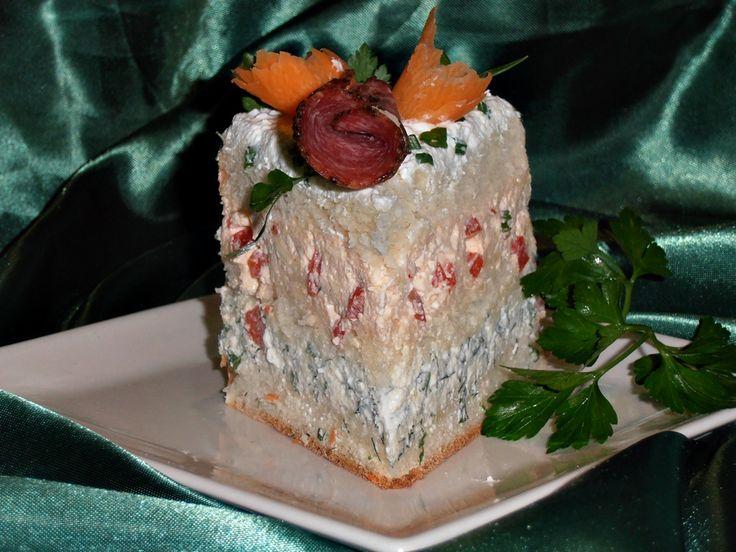 Smorgastarta (Tort Sandwich)