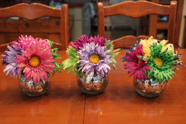 1000 ideas about bat mitzvah centerpieces on pinterest for Do it yourself table decorations