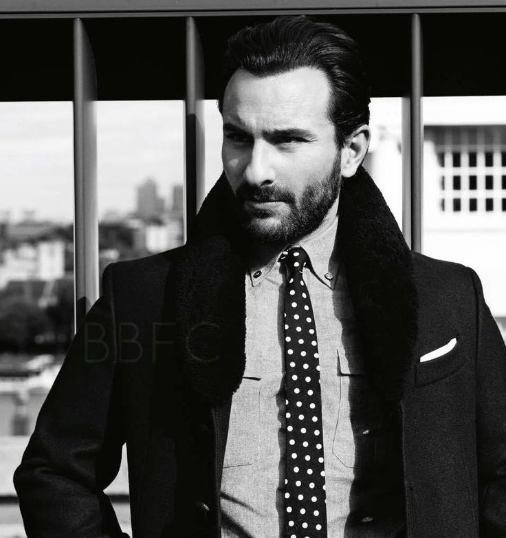 Saif Ali Khan Smart And Nice Look Shoot For GQ India January 2013