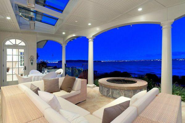 Beautiful Contemporary Covered Patio PVC Design
