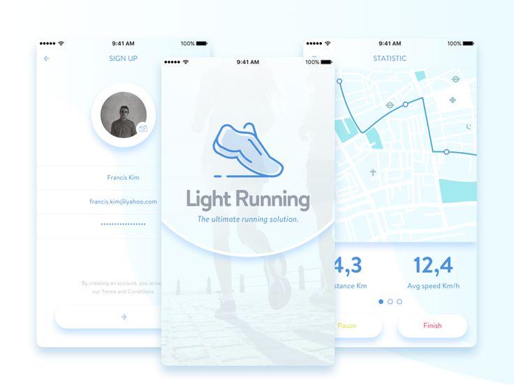 Light Running by Adam Lamkharbech