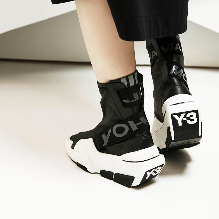 Mira Boot is wrapped in Yohji strapping