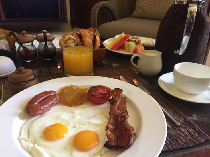 My breakfast!!
