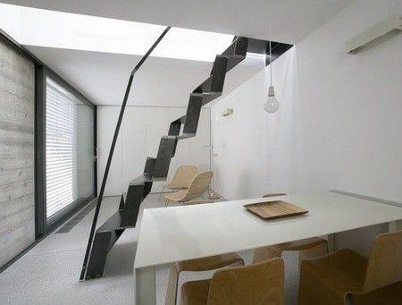 Die besten 25+ schmale Treppe Ideen auf Pinterest   moderne ...